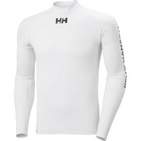 Helly Hansen Waterwear Rashguard Long Sleeve Shirt Men, white